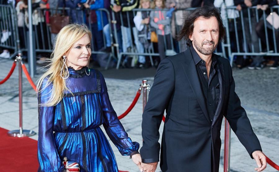 Dziennikarka Monika Olejnik z partnerem Tomaszem Ziółkowskim