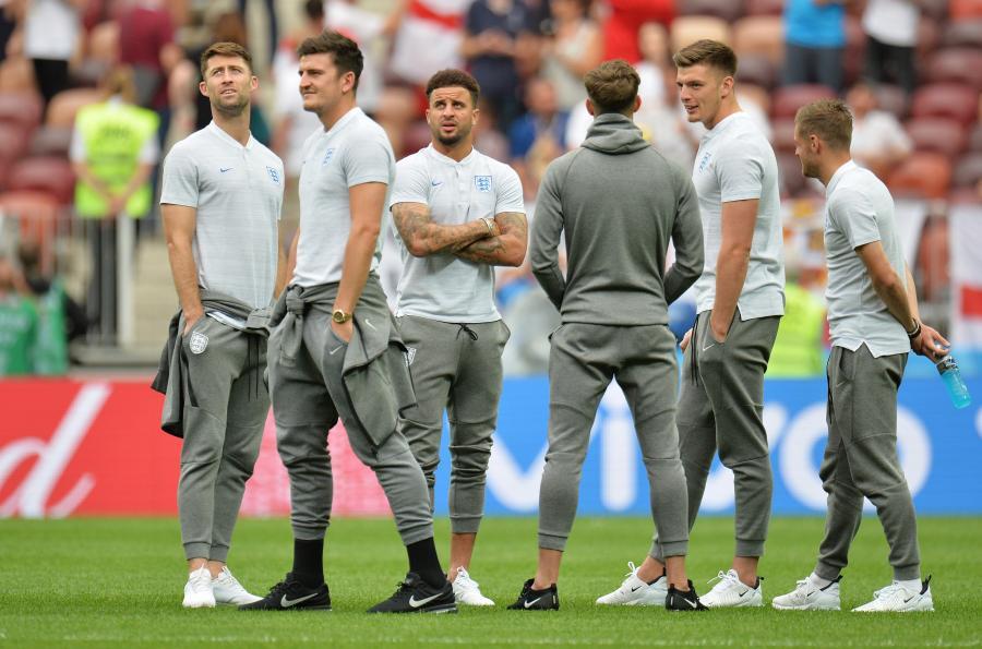Piłkarze reprezentacji Anglii