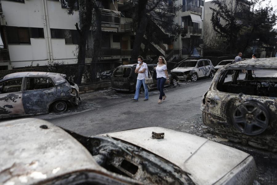 Ogień trawi Grecję