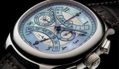 Oto najdroższe zegarki polityków - na zdjęciu DeWitt wicemera Moskwy