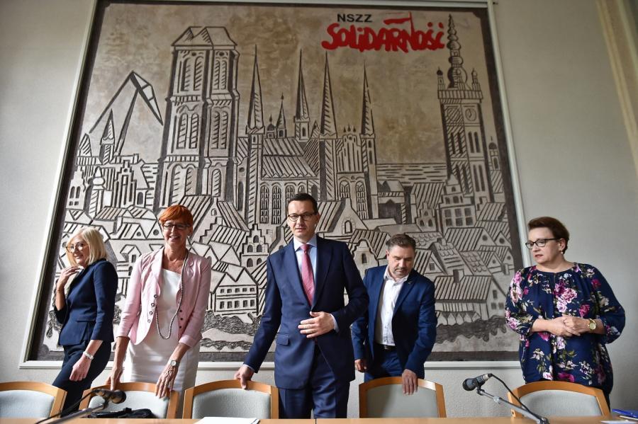 Nadzwyczajne spotkanie Komisji Krajowej NSZZ Solidarność w Gdańsku