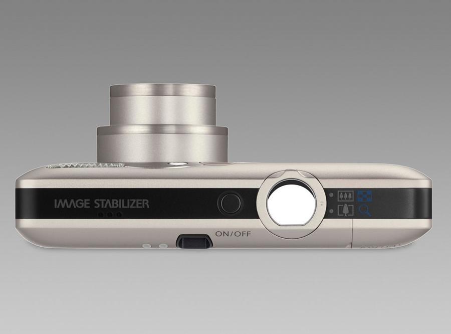 Ixus 100 IS ma zaledwie 18,4 mm grubości