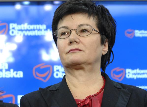 Hanna Gronkiewicz-Waltz także śledzi, co o niej piszą