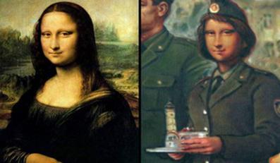 Mona Lisa ma konkurencję na Białorusi