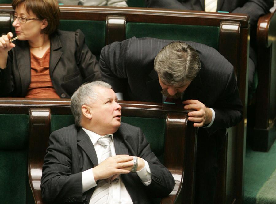 Klimatyzacja wygoniła Kaczyńskiego z Sejmu?