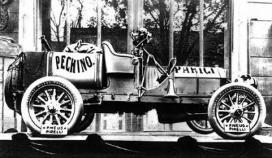 1907, the Peking-Paris Itala 40HP