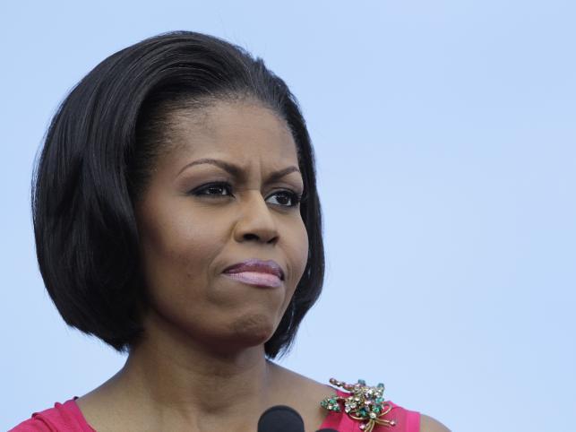1. Michelle Obama, Pierwsza Dama Stanów Zjednoczonych