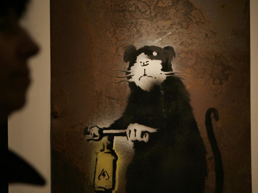 Banksy - niewidzialna ręka sztuki