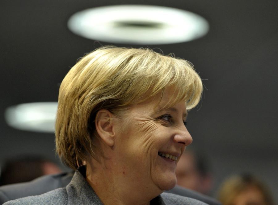 Merkel chce narzucić strefie euro niemiecki model