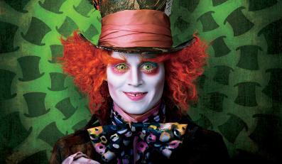 """Johnny Depp w """"Alicji w Krainie Czarów"""""""