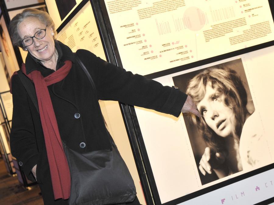 Maja Komorowska na premierze albumu \