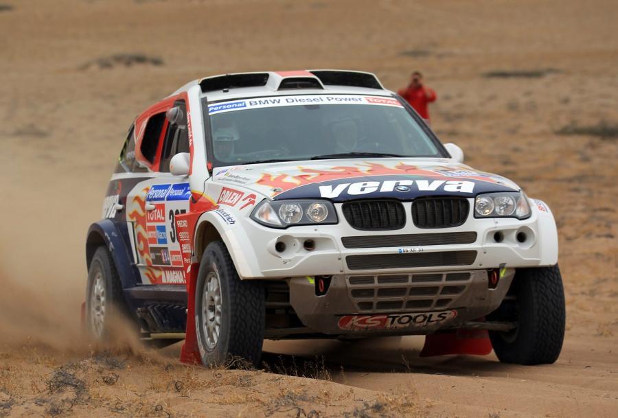 Rajd Dakar - szybka jazda Polaka