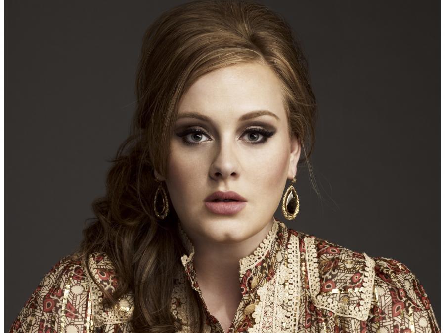 Adele króluje na listach przebojów
