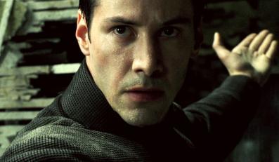 """Keanu Reeves w filmie """"Matrix"""""""