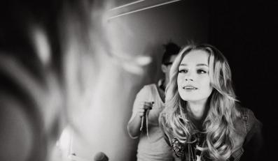 Kasia Smolińska pozuje dla biżuteryjnej marki Diva – kulisy sesji