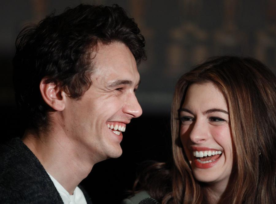 James Franco i Anne Hathaway