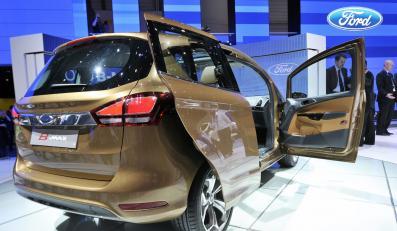 Ford B-Max prosto z Genewy