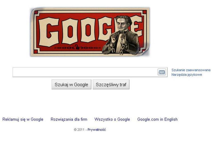 Google zmieniło logotyp! Dzisiaj wita najsłynniejszy magik