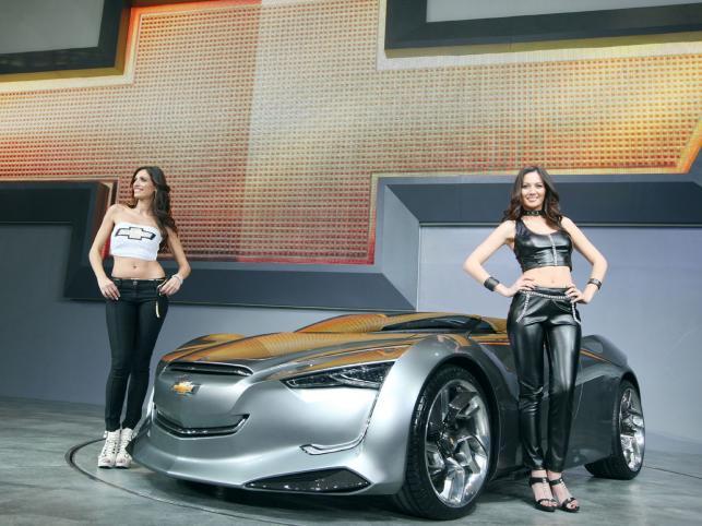 W czasie salonu samochodowego w Seulu koreański oddział General Motors zaprezentował prototypowy model Chevroleta o nazwie mi-ray