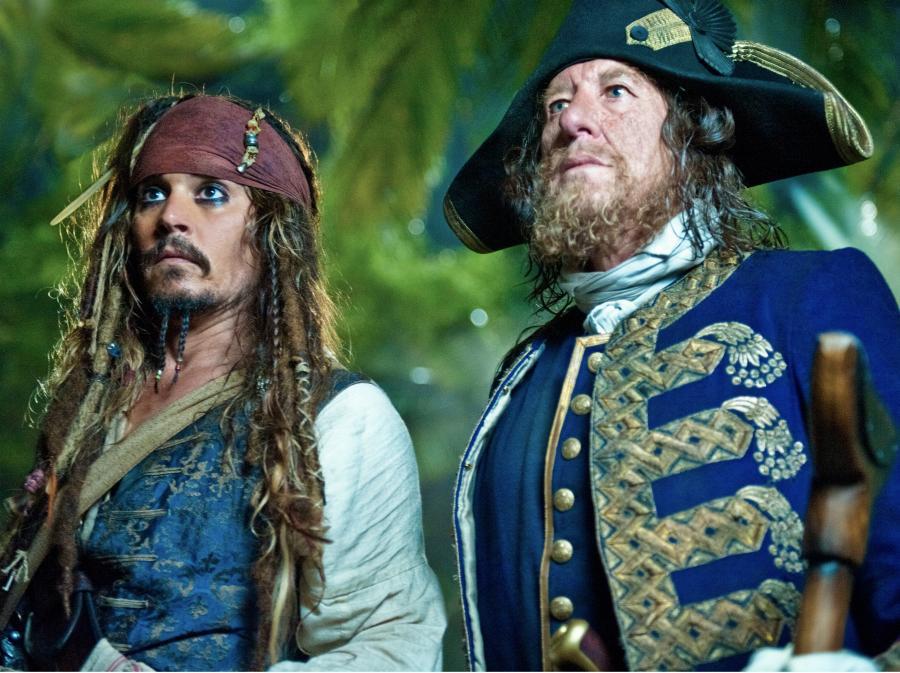 Piraci z Karaibów nie snują opowieści