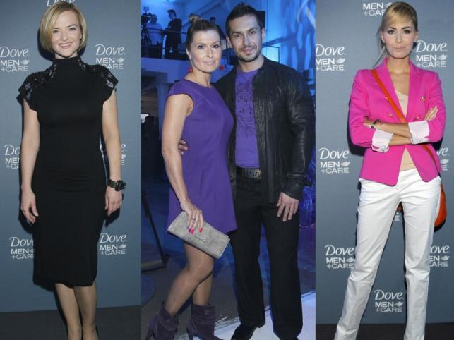 Plejada gwiazd na premierze kosmetyków Dove Men Care