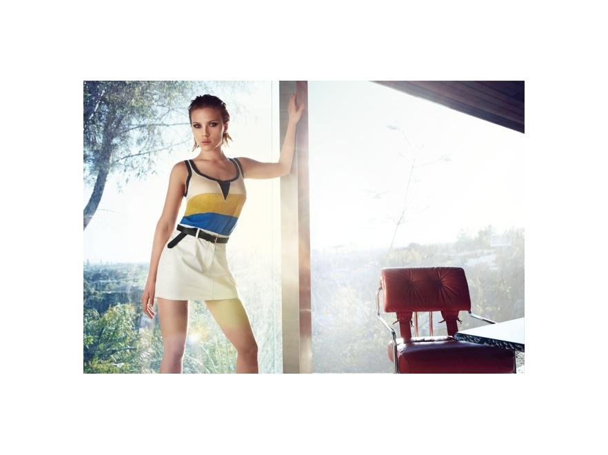 Scarlett Johansson - kampania MANGO lato 2011