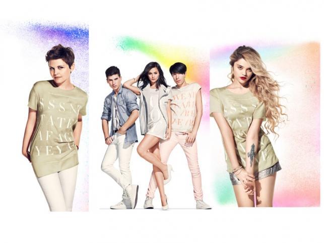 Kampania promująca kolekcję H&M Fashion Against AIDS - wiosna 2011