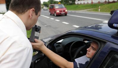 61 pijanych kierowców w cztery godziny