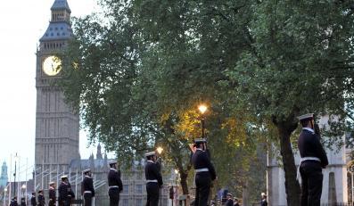 Wojskowa próba przed ślubem księcia Williama i Kate Middleton