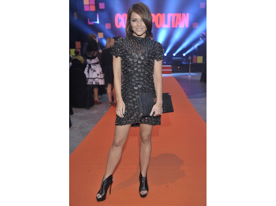 Edyta Herbuś na rozdaniu nagród Prix de Beaute 2011