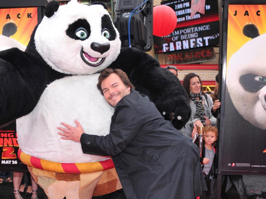 Jack Black –najlepszy przyjaciel Kung Fu Pandy