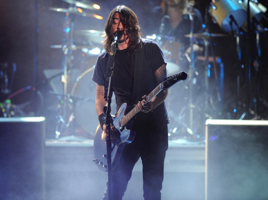 Dave Groh nie zapomina o Foo Fighters