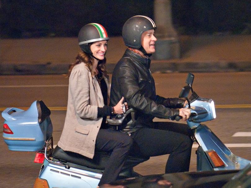 Tom Hanks i Julia Roberts w filmie \