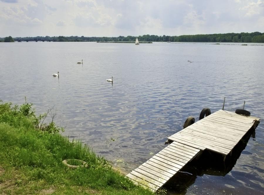 Jezioro na Mazowszu