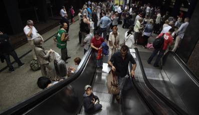 Na Dworcu Centralnym zapanowały egipskie ciemności