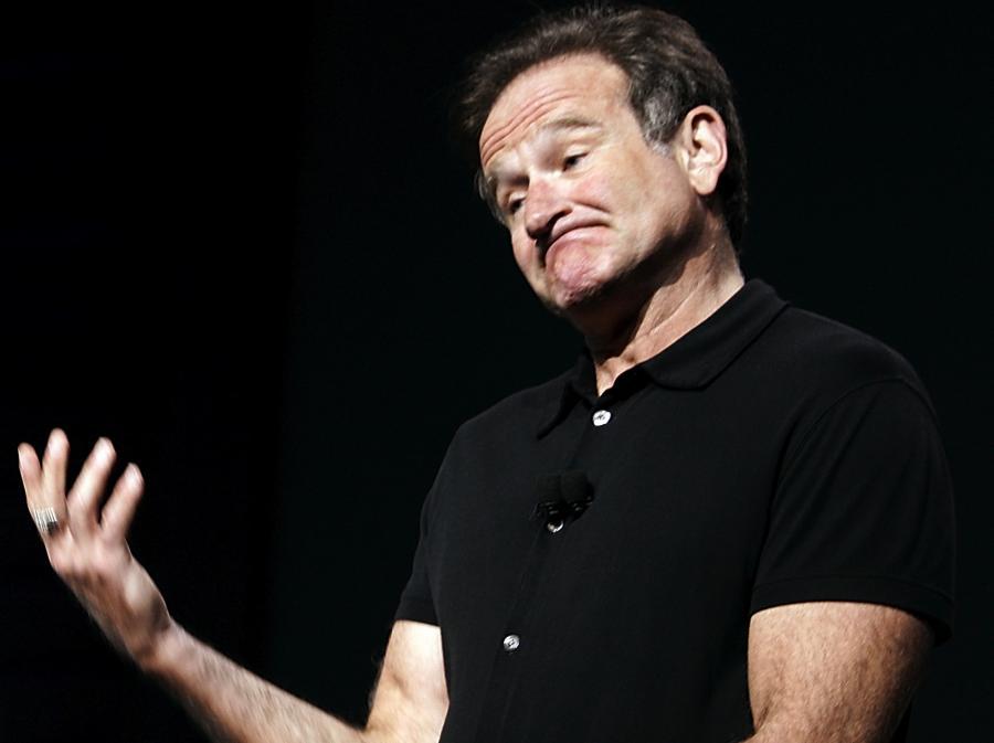 Robin Williams udziela ślubów