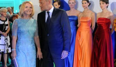 Premier Donald Tusk z żoną w Teatrze Wielkim-Operze Narodowej