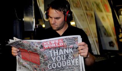"""Tabloid """"News of the World"""" pożegnał się z czytelnikami"""