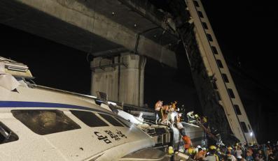 W 21 godzin po katastrofie kolejowej uratowano małe dziecko