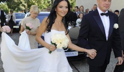 Wspaniały ślub pięknej prezenterki