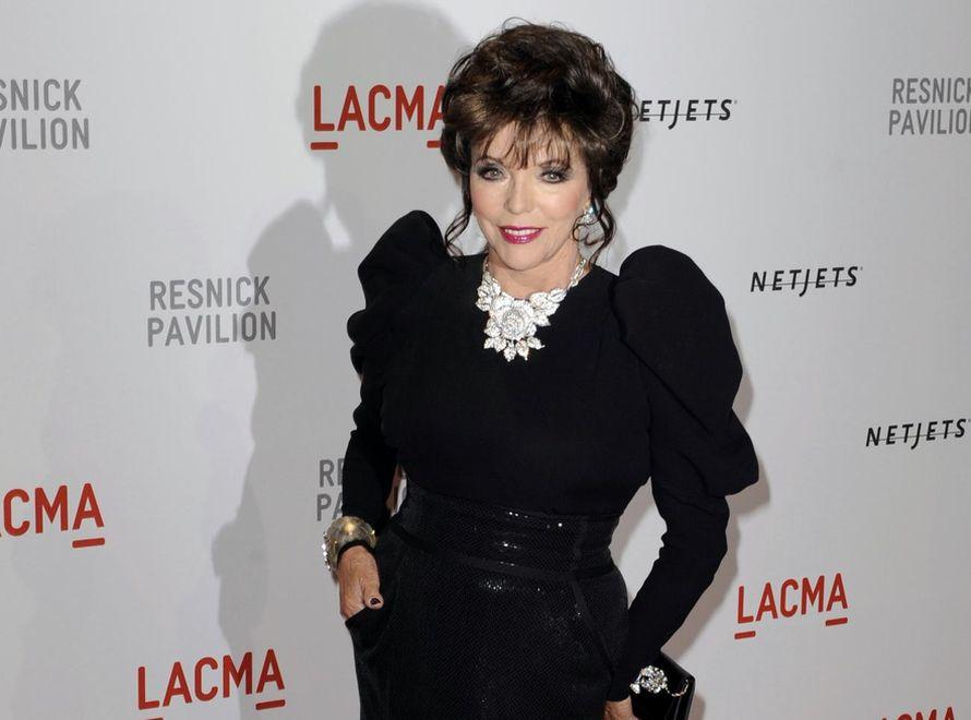 Joan Collins - wiecznie młoda gwiazda