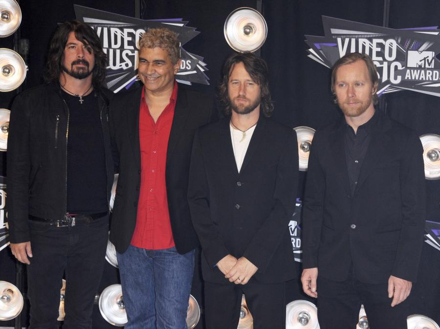 Foo Fighters na gali MTV VMA 2011
