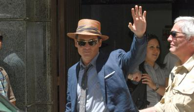 "Johnny Depp w ""The Rum Diary"""