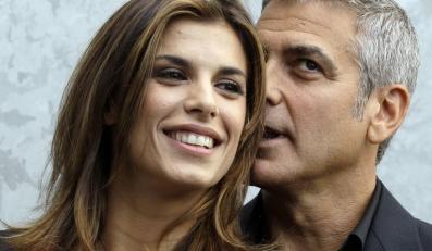 Piękna Elisabetta Canalis podbiła serce samego George'a Clooneya