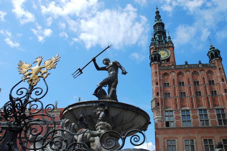 Z gdańskiego Długiego Targu zniknie fontanna Neptuna