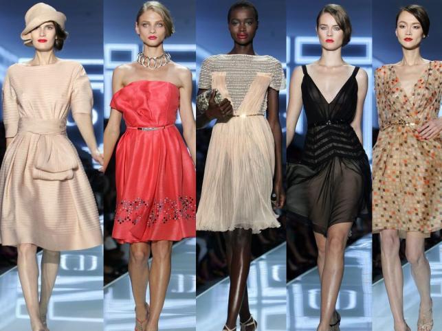 Kolekcja Dior na sezon wiosna / lato 2012