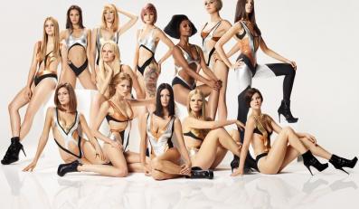 Top Model: modelki i nagi mężczyzna. Zobacz kulisy odcinka!