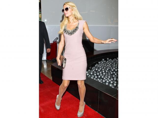 Paris Hilton w centrum handlowym Silesia City Center