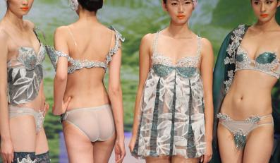 Prezentacja projektów konkursowych China Fashion Week w Pekinie