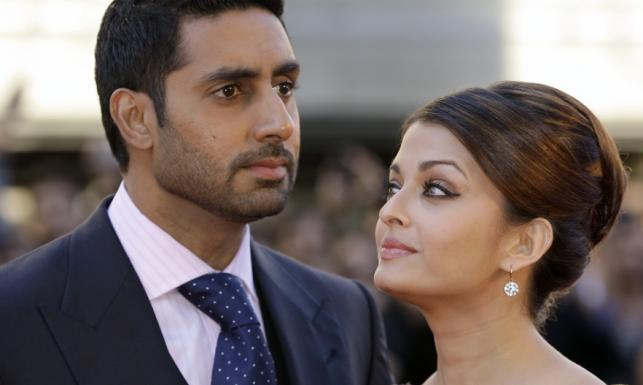 Aishwarya Rai Bachchan i jej mąż Abhishek Bachchan.